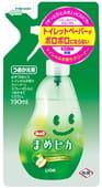LION Моющее антибактериальное средство для туалета с ароматом яблока «Look Mame Рiкa», сменная упаковка, 190 мл.