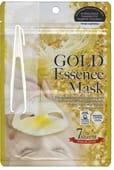 """Japan Gals """"Gold Essence Mask"""" Маска с экстрактом золота, 7 шт. в упаковке."""