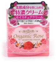 """Meishoku """"Organic Rose Moisture Cream"""" Увлажняющий крем с экстрактом дамасской розы, 50 гр."""