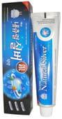 EQ MAXON Зубная паста-гель с натуральным серебром, 150 гр.