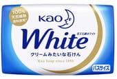 """KAO """"White"""" Увлажняющее крем-мыло для тела с ароматом белых цветов, 130 гр."""
