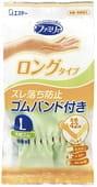 """ST """"Family"""" Перчатки из каучука для бытовых и хозяйственных нужд (с антибактериальным эффектом, средней толщины), размер L, зелёные."""