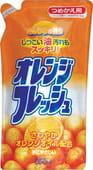 """ROCKET SOAP Жидкость для мытья посуды """"Fresh - свежесть апельсина"""", сменная упаковка, 500 мл."""