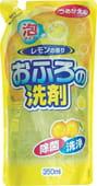 """ROCKET SOAP Пенящееся чистящее средство для ванны """"Rocket Soap - свежий лимон"""", мягкая упаковка, 350 мл."""