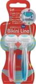 "Mandom Бритва безопасная для зоны бикини одноразовая ""Bikini Line - 1 лезвие"", 2 шт. в упаковке."