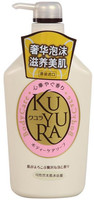 SHISEIDO «Kuyura» Увлажняющее жидкое крем-мыло для тела, с цветочным ароматом, 550 мл.