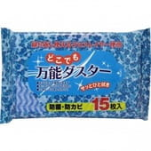 SHOWA SIKO Влажные салфетки для удаления пыли, 15 шт., 20 на 30 см.