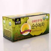 NOKCHAWON Корейский органический зелёный чай, 30 гр. (25х1,2 гр.).