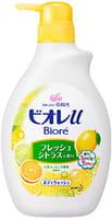 KAO «Biore U» - Гель для душа с ароматом свежего цитруса, 530 мл.