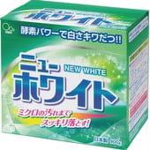 Mitsuei «New White» Стиральный порошок с пятновыводителемм и ферментами для удаления стойких загрязнений, 900 гр.