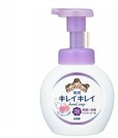 """Lion Lion """"Kireikirei"""" Пенное антибактериальное мыло для рук - для всей семьи, с ароматом цветов, 250 мл."""