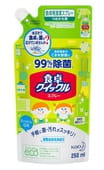 KAO «Quick Le» Спрей для кухни, чистящий и дезинфицирующий, с ароматом зелёного чая, 250 мл, сменная упаковка.