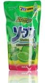 """Kaneyo Жидкость для мытья посуды """"Kaneyo – свежий лайм"""", 500 мл., сменный блок."""