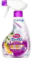 KAO «Toilet Magic Clean deodorant and cleaning spray Jasmine & Orange» Очищающий спрей-пенка с дезодорирующим эффектом для туалета, с ароматом жасмина и апельсина, 400 мл.