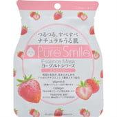 """SUN SMILE """"Yogurt mask"""" Выравнивающая тон кожи маска для лица на йогуртовой основе с экстрактом клубники, 23 мл."""