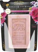 KRACIE «Pure Savon – аромат розы» Мыло жидкое для тела, сменная упаковка, 250 мл.