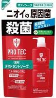 """Lion Мужское дезодорирующие жидкое мыло для тела с ментолом """"PRO TEC"""", 330 мл., сменная упаковка."""