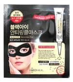 "MEDIHEAL ""Black Eye Anti-Wrinkle Mask"" Маска для области вокруг глаз, против морщин, 1 шт."