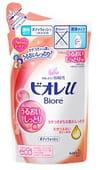 KAO «Biore U - Floral fruity» Гель для душа с ароматом цветов и фруктов, 380 мл, сменная упаковка.