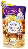 KAO «Biore U - Aroma Time Precious Dolce» Гель для душа с ароматом драгоценной ванили, 360 мл., сменная упаковка.