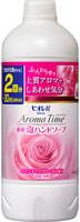 """KAO KAO """"Biore U - Aroma Time Foaming Hand Soap Romantic Rose"""" Мыло-пенка для рук с антибактериальным эффектом, с романтичным ароматом розы, 400 мл, сменная упаковка."""