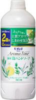 """KAO KAO """"Biore U - Aroma Time Foaming Hand Soap Refresh herbs"""" Мыло-пенка для рук с антибактериальным эффектом, с ароматом свежих трав, 400 мл, сменная упаковка."""