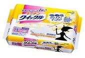 """KAO """"Quick Le"""" Салфетки для удаления жира и загрязнений на кухне, с дезинфицирующим эффектом, сменная упаковка, 24 шт., 31х24,5 см."""
