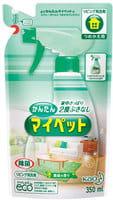 """KAO """"My Pet"""" Универсальное моющее средство для дома, с дезинфицирующим эффектом, для всех видов поверхностей, 350 мл, сменная упаковка."""