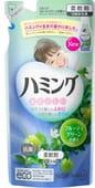 KAO «Hamming» Кондиционер для белья, со смягчающим эффектом, с освежающим ароматом зелёных фруктов, 540 мл, сменная упаковка.