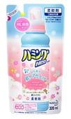 KAO «Hamming Neo» Мягкий кондиционер для взрослого и детского белья, с пудровым ароматом детской присыпки, 320 мл, сменная упаковка.