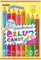 """Kanro """"Iro Empitsu Candy"""" Леденцы в виде карандашей, 80 гр."""