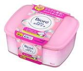 KAO «Biore» Освежающие и дезодорирующие салфетки для тела с прозрачной шёлковой пудрой, нежный аромат душистого мыла, 36 шт.