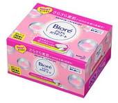 KAO «Biore» Дезодорант-салфетки для тела с прозрачной шёлковой пудрой, нежный аромат душистого мыла, сменная упаковка, 36 шт.