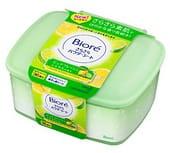 KAO «Biore» Освежающие и дезодорирующие салфетки для тела с прозрачной шёлковой пудрой, чистый цитрусовый аромат, 36 шт.