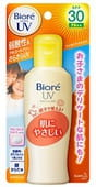 "KAO ""Biore smooth UV Mild milk SPF30"" Мягкое солнцезащитное молочко для всей семьи, SPF 30, 120 мл."