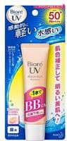 KAO «Biore smooth UV Aqua rich BB essence SPF 50+» Солнцезащитный BB-крем для лица, с увлажняющим эффектом, SPF 50, 33 гр.