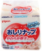 PIGEON-ЯПОНИЯ Детские влажные салфетки с лосьоном, запасной блок, 3х80 шт.