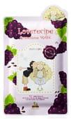 SALLY'S BOX Маска для лица с экстрактом винограда.