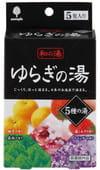 Kokubo Соль для ванны, ассорти из 5 видов, 5 шт. х 25 г.