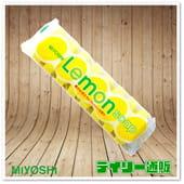 MIYOSHI Туалетное мыло для всей семьи с ароматом лимона, 8 шт.* 45 гр.