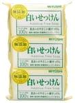 MIYOSHI Туалетное мыло на основе натуральных компонентов, 3шт.*108гр.