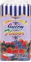IDESHIGYO Туалетная бумага двухслойная, аромат ягод, фиолетовая, 30 м, 12 рулонов.