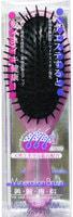 """Vess """"Mineralion Brush"""" Щетка массажная для сухих, ослабленных волос с минералами горных пород, малая - круглая."""