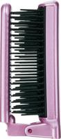 """Vess """"Mineralion Brush"""" Щетка массажная для сухих, ослабленных волос с минералами горных пород, складная."""