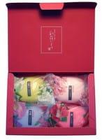 "MASTER SOAP ""Saika Dayori soap set"" Набор туалетного мыла ""Цветы и травы"", 4 шт. х 70 г."