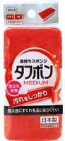 """Ohe Corporation """"Tafupon Medium Sponge R"""" Губка для мытья посуды (трёхслойная, верхний слой средней жёсткости)."""