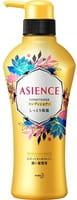 KAO «Asience» Увлажняющий кондиционер для волос, с мёдом и протеином жемчуга, цветочный аромат, 450 мл.