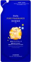 """Nissan """"FaFa Fine Fragrance Homme"""" Антистатический кондиционер для белья с красивым мускатным ароматом чая с бергамотом, запасной блок, 500 мл."""