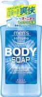 """Kose Cosmeport """"Men's Softymo"""" Мужской гель для душа с охлаждающим эффектом """"Бодрящая свежесть"""", с цитрусовым ароматом, 550 мл."""