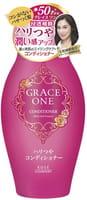"""KOSE Cosmeport """"Grace One"""" Тритмент для волос """"Упругость и сияние"""", для женщин старше 50 лет, без силикона, с ароматом роз и фруктов, 400 мл."""